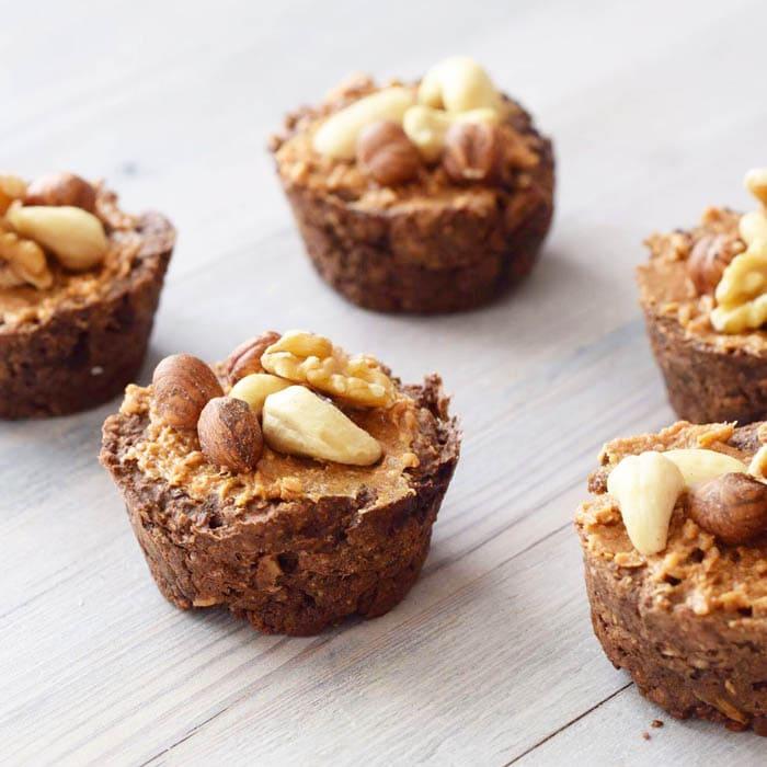 Easy Esspressoats Muffins