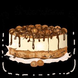 Ook buikpijn-pietjes kunnen heerlijk mee smullen dit jaar; Glutenvrije Sinterklaas taarten op ohmypie.nl!