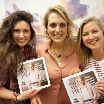 Samen op de foto met Lisa Goes Vegan op de Oh My Pie boeklancering