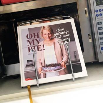 Oh my Pie wordt uitvoerig getest op Charlie's Kitchen & de oven van Kim!