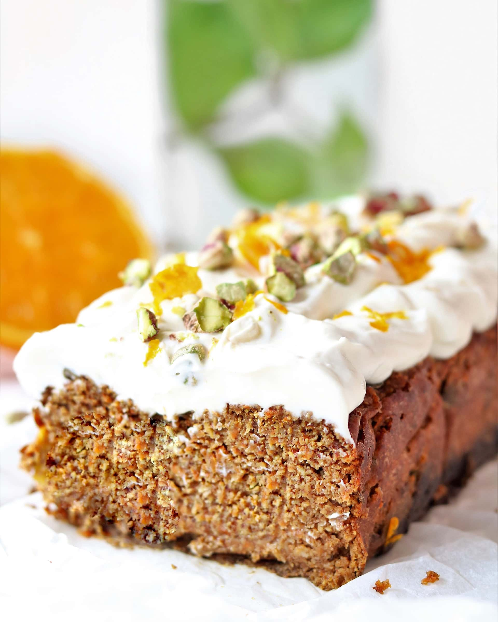 Gezonde Carrot Cake Ontbijtcake