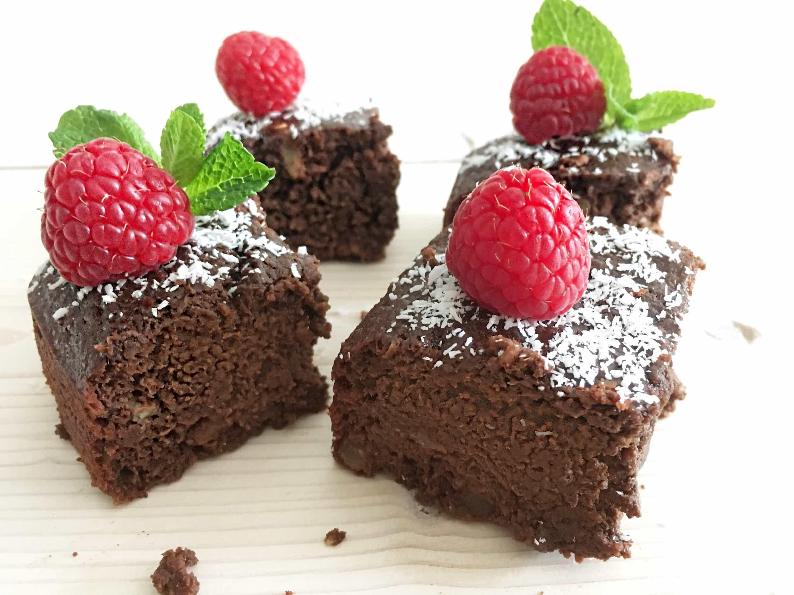 Sticky brownies waar je mee kunt ontbijten!
