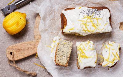 Glutenvrije Lemon & Poppyseed Cake