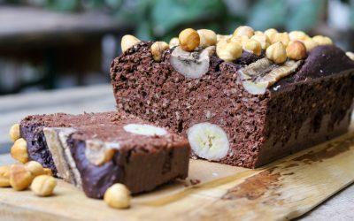 Glutenvrije chocolade bananencake