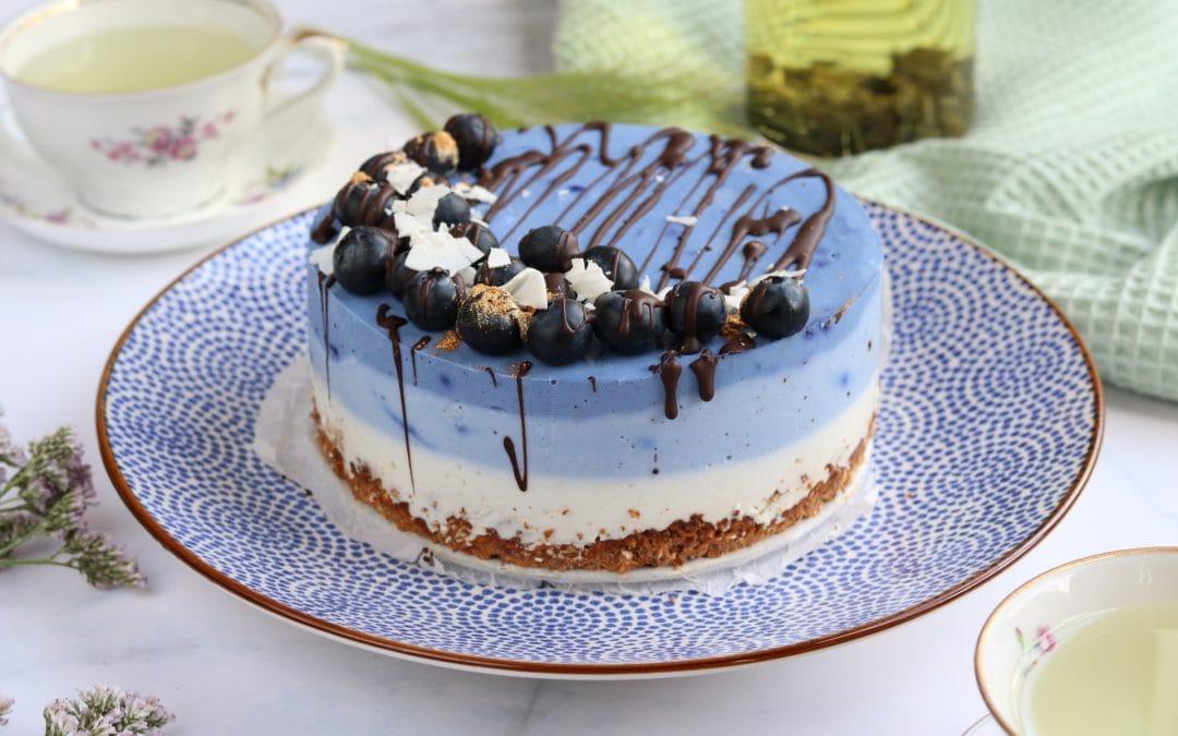 Spectaculaire blauwe ontbijttaart die iedereen kan maken!