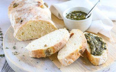 De lekkerste glutenvrije ciabatta maak je zo!