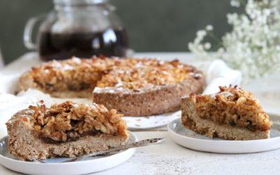 Glutenvrije appeltaart met havermoutbodem van Anna