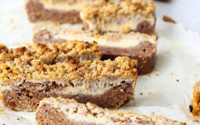 Glutenvrije carrot cake cheesecake repen