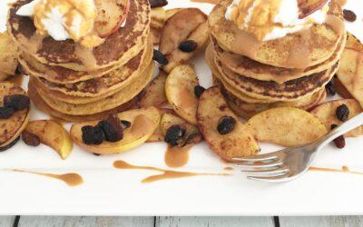 Colletes Carrot Cake Pancakes